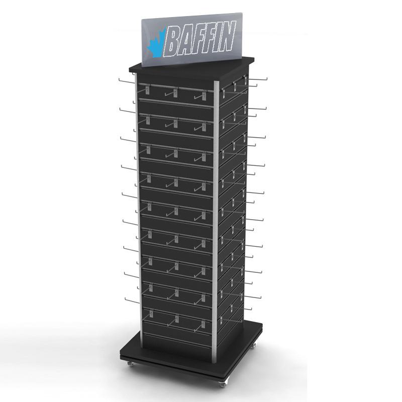 Metal Hook Display Stand