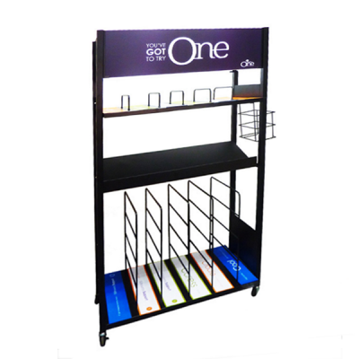 electronic floor display  stand