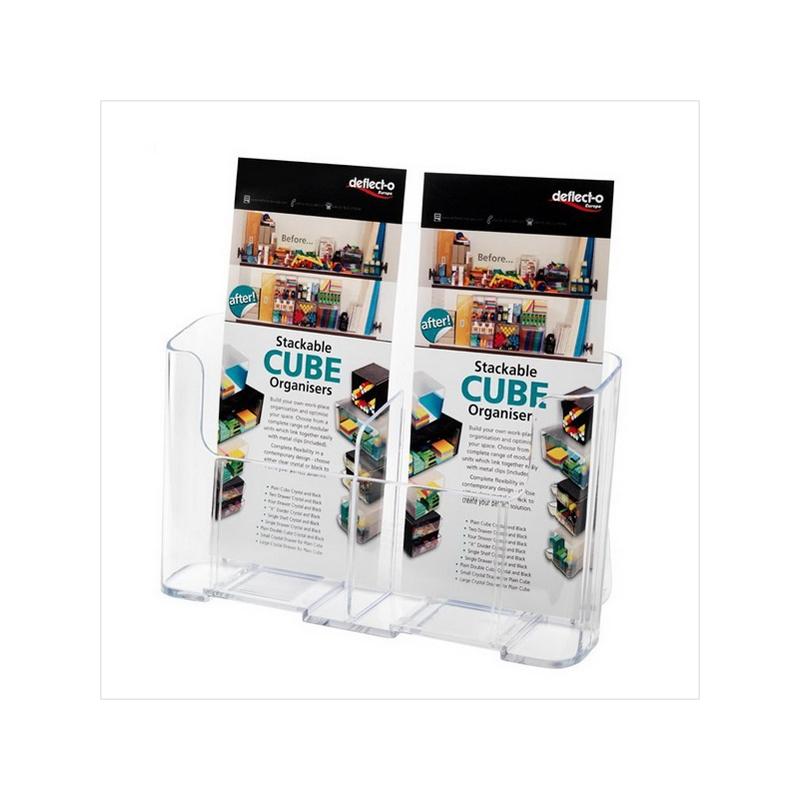 Acrylic Counter Box For Magazine Holder Jh Display Rack