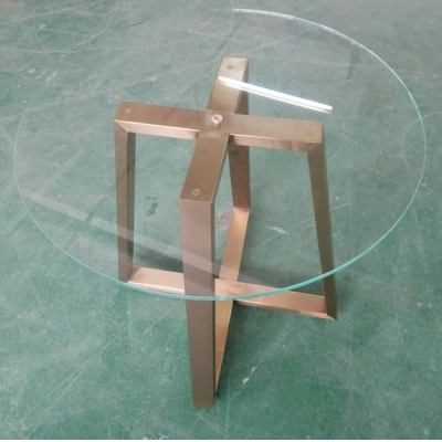 Glass Display Table