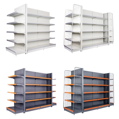 Metal Head Multi-layer Shelves